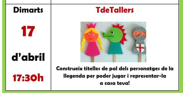TdeTallers: Sant Jordi