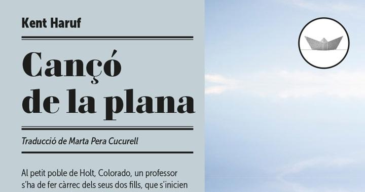 """Novetat novel·la: """"Cançó de la plana"""""""