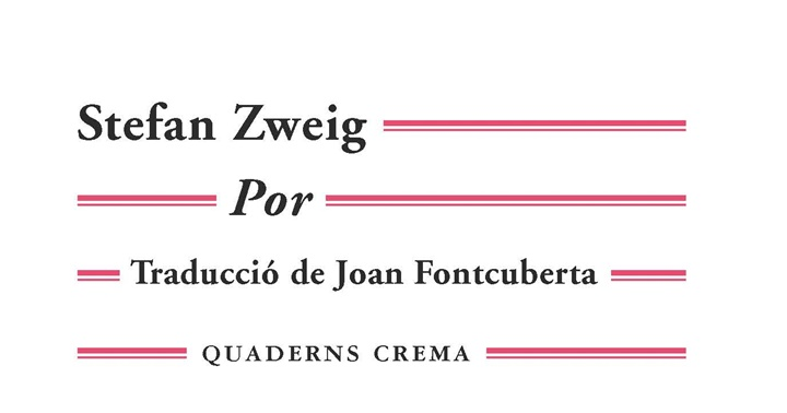 """Novetat novel·la: """"Por"""" de Stefan Zweig"""