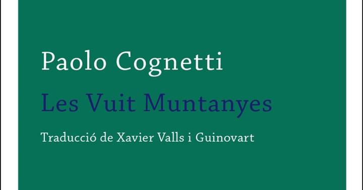 """Novetat novel·la: """"Les vuit muntanyes"""""""