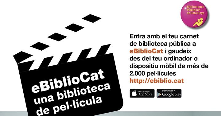 eBiblioCat: una biblioteca de pel·lícula