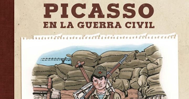 """Novetat Còmic: """"Picasso en la Guerra Civil"""""""