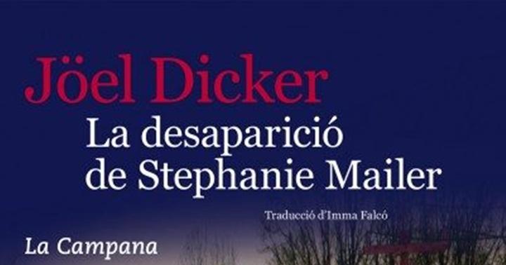 """Novetat novel·la: """"La desaparició de Stephanie Mailer"""""""