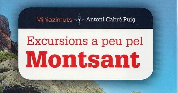 """Recomanació: """"Excursions a peu pel Montsant"""""""