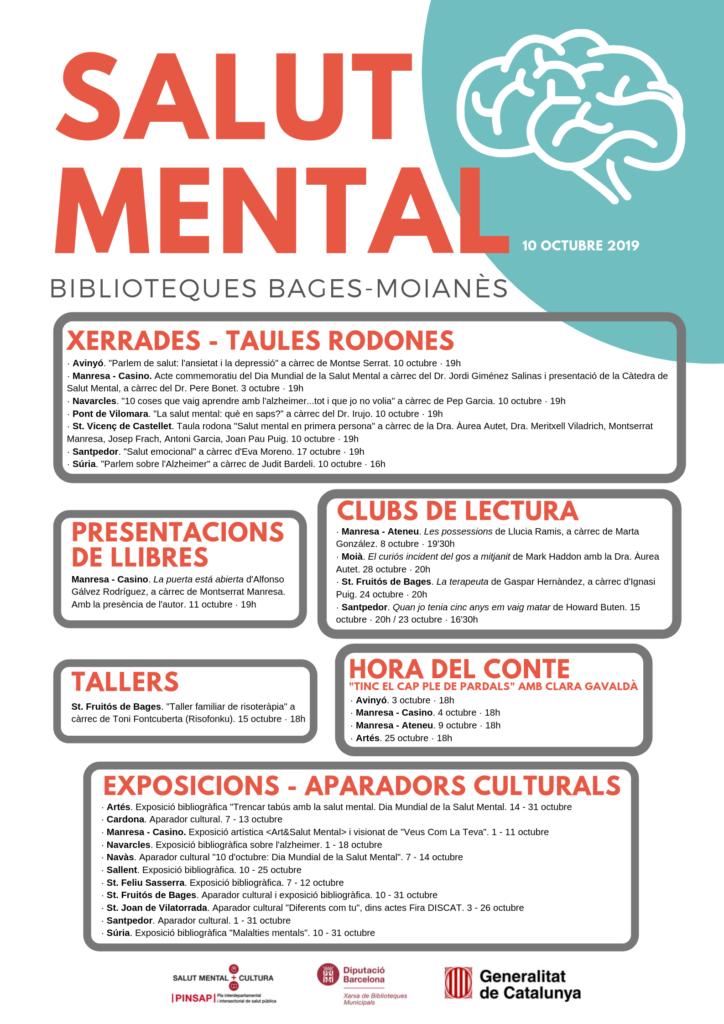 poster salut mental bibliosszona 2019