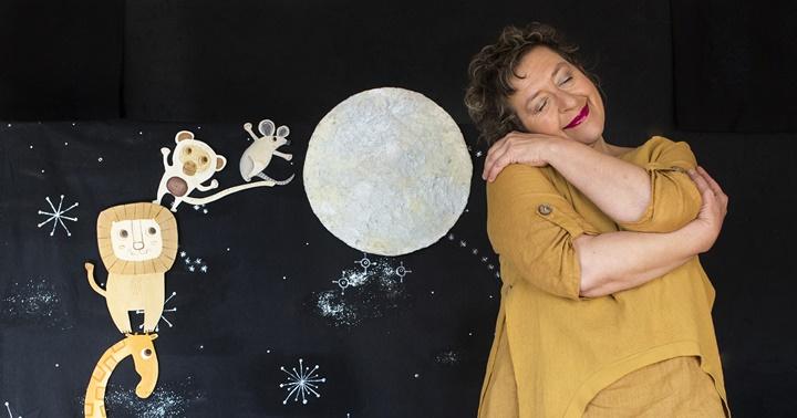 """Hora del conte: """"De què fa gust la lluna?"""""""