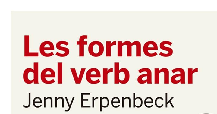 """Recomanació novel·la: """"Les formes del verb anar"""""""