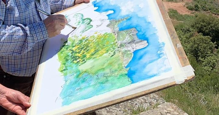 """Exposició """"Dibuixant el Moianès, dibuixant en comunitat"""""""