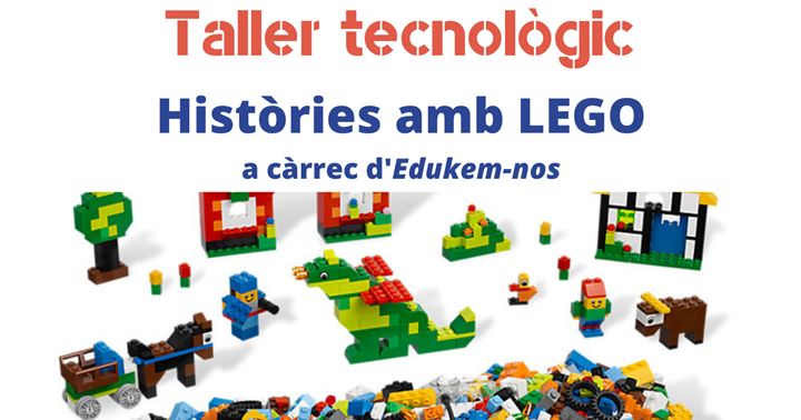 Apunteu-vos al taller de Lego