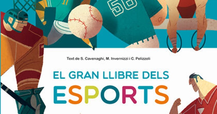 """Novetat infantil: """"El gran llibre dels esports"""""""