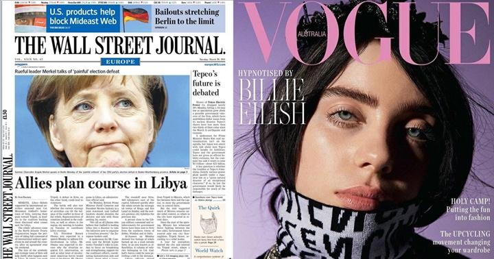 Diaris i revistes internacionals a l'eBiblio