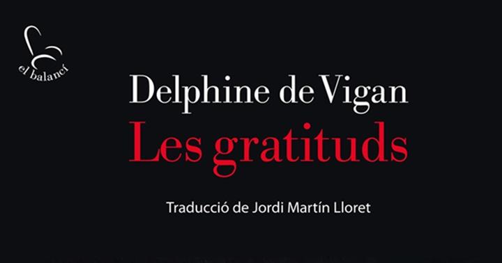 """Novetat novel·la: """"Les gratituds"""""""